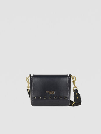Medium T-Easy Shine Cacciatora bag in faux leather