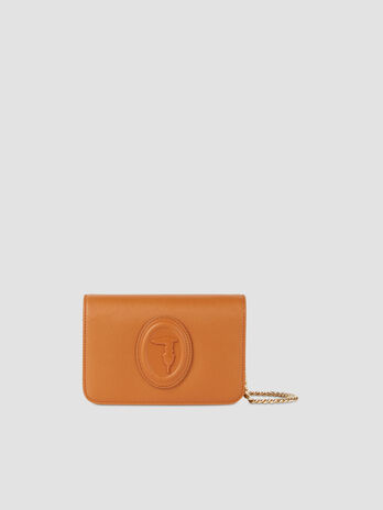 Faux saffiano leather 1 clutch