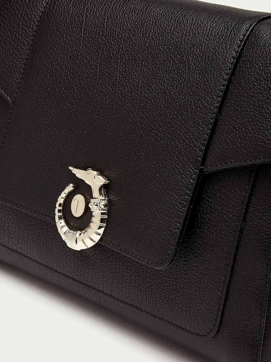 Icon Bag Lovy classique en cuir avec Levriero