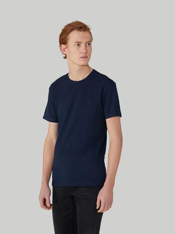 T-shirt slim fit in jersey di cotone stretch