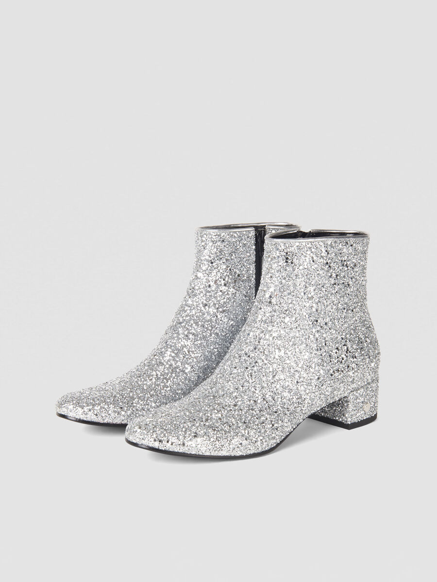 Botin T-Easy Diamond de purpurina