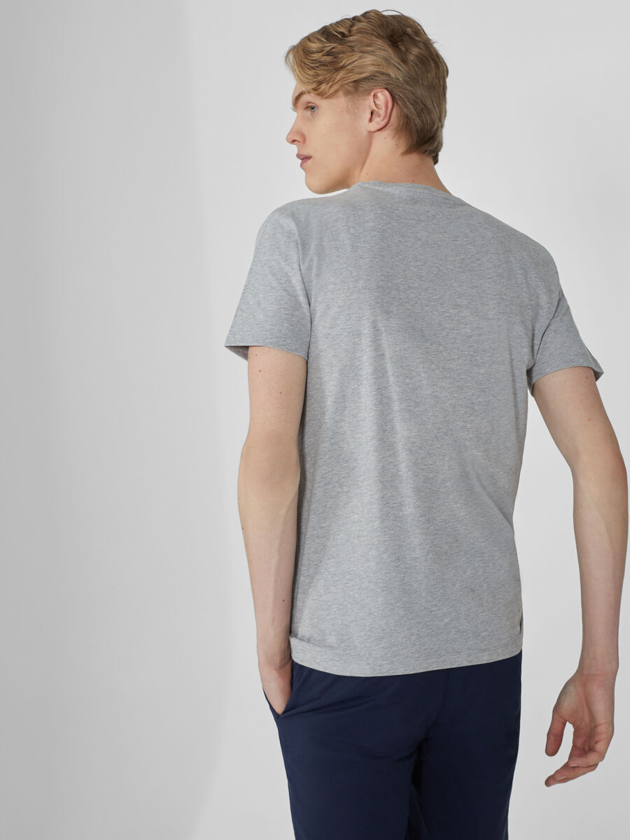 Regular-fit jersey T-shirt with print