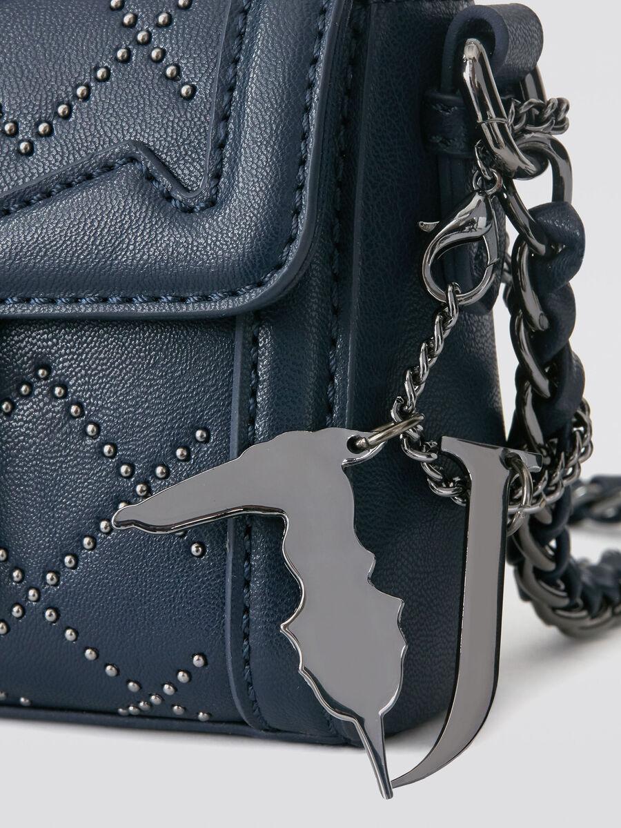 Borsa a tracolla Saint Tropez mini con borchie