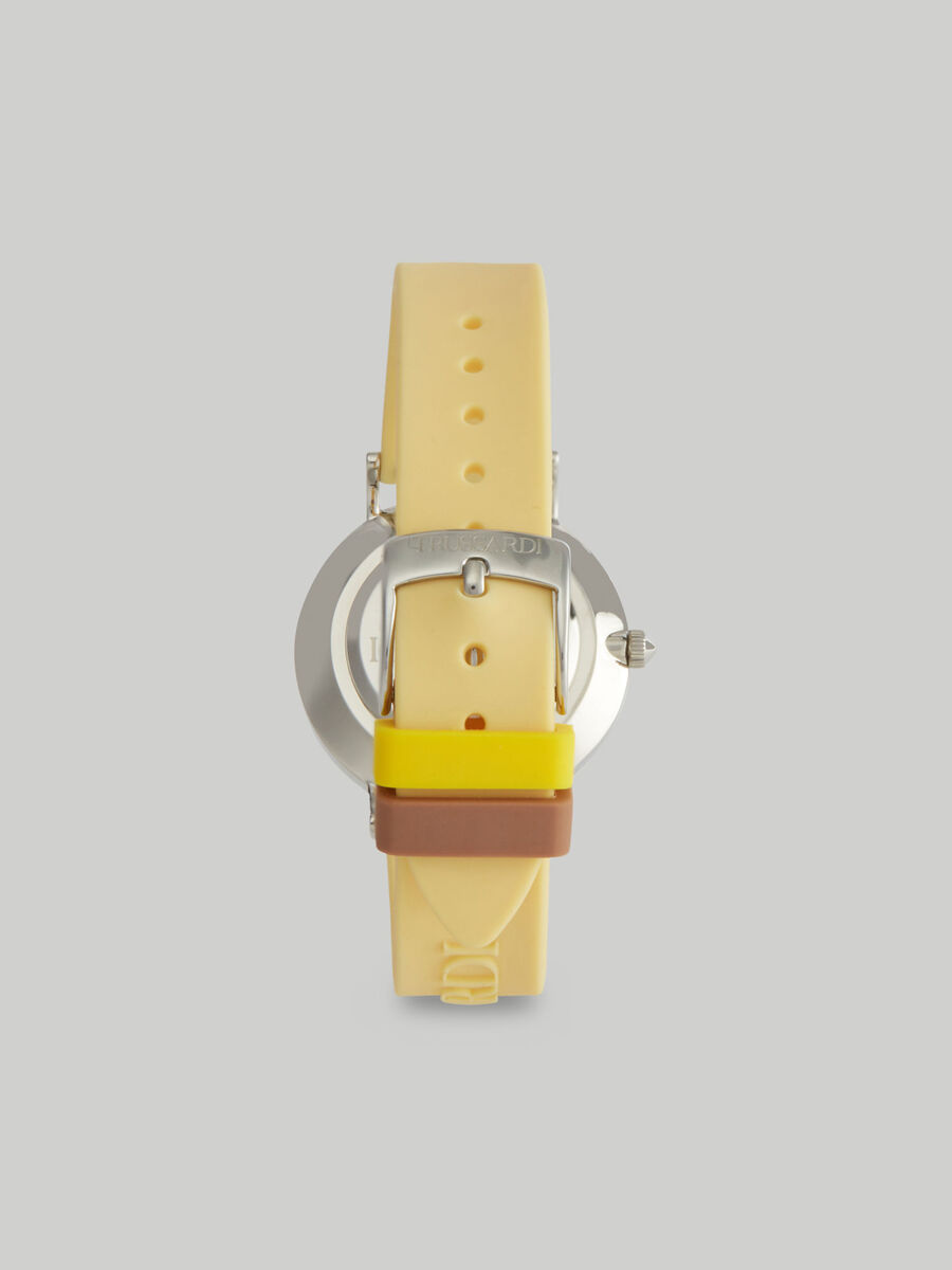 33-mm T-Motif watch with silicone strap