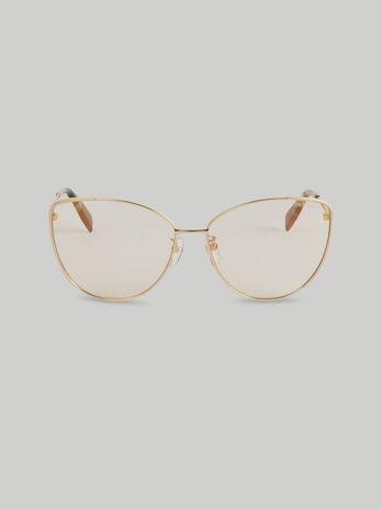 Metal butterfly sunglasses