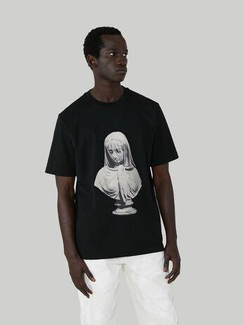 T-Shirt im Over-Fit aus Baumwolljersey mit Print