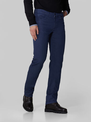 Icon 380 trousers in melange cotton drill