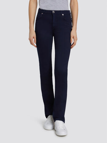 Classic Seasonal 130 jeans in garment dyed fabric