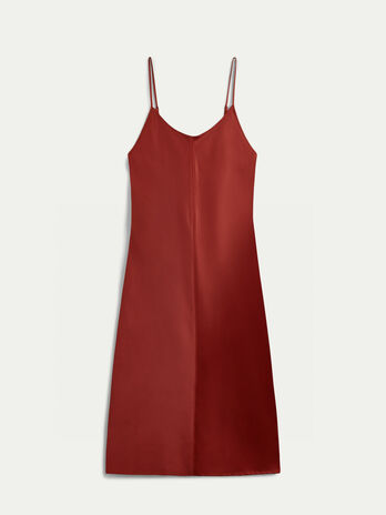 Slip Dress aus Satin