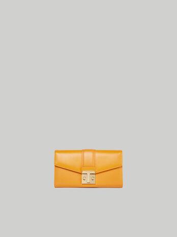 Klassische Geldboerse Tulip aus glattem Kunstleder
