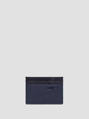 Porte cartes Ticinese en nylon camouflage