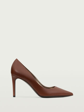 Calfskin Decollete