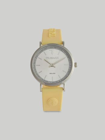 Montre T-Motif 33 MM a bracelet en silicone