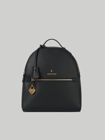 Lily backpack in faux deerskin