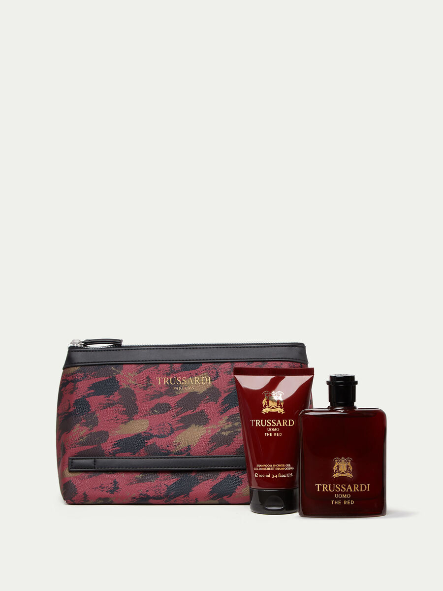 Coffret Trussardi Uomo The Red parfum et gel douche