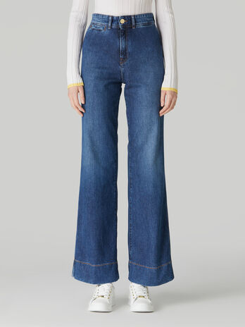 Jeans Palace in denim piquet