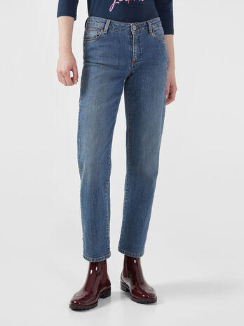 Cropped 260 jeans in Nevada denim