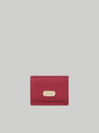 Dreiteilige Geldboerse Small Boston aus Kunstleder