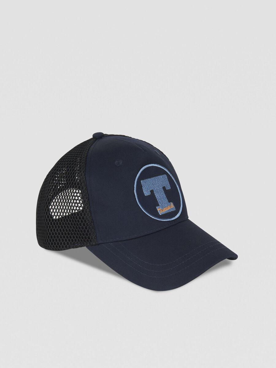 Casquette de baseball en coton a logo