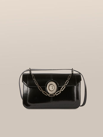 Medium Ottavia shoulder bag in abraded leather