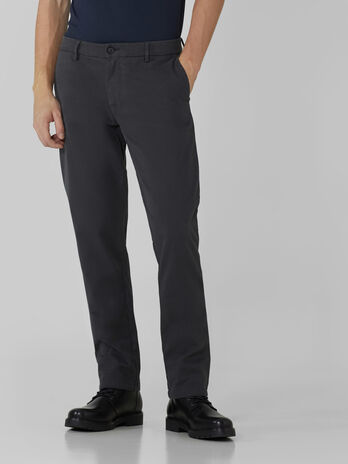 Pantalon aviateur en coton stretch