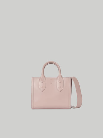 Shopper Venezia Small aus Leder