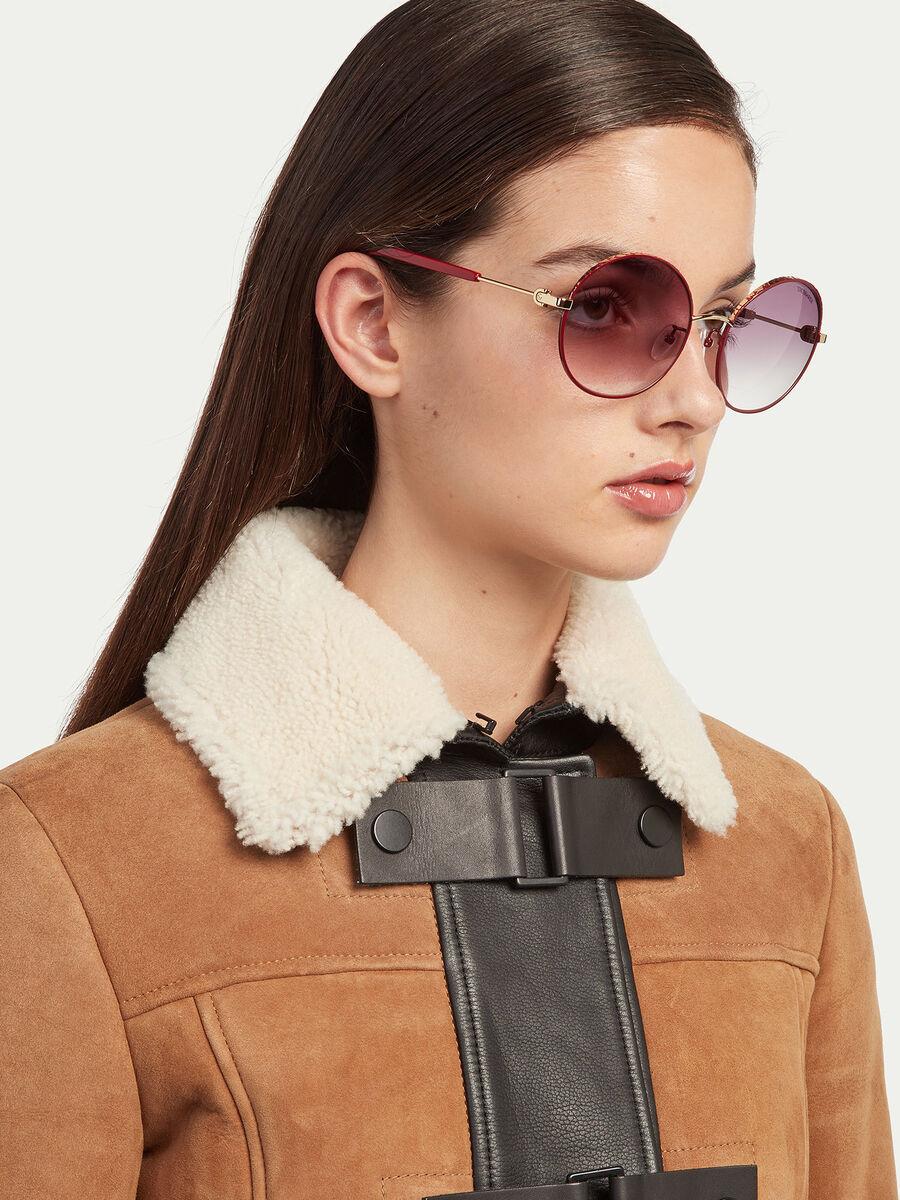 Gafas de sol redondas oversized