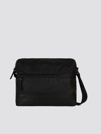 Large Turati messenger bag in nylon and Cordura eed563b7f81
