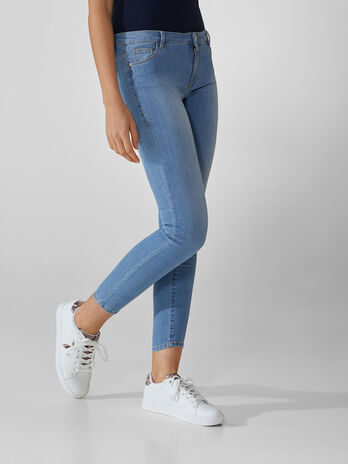 Jean 206 super skinny en denim Cross Estela