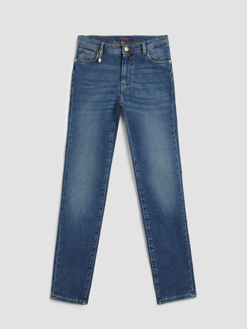 Skinny soft touch denim 105 jeans