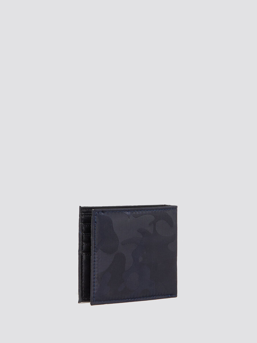 Ticinese wallet in camouflage nylon