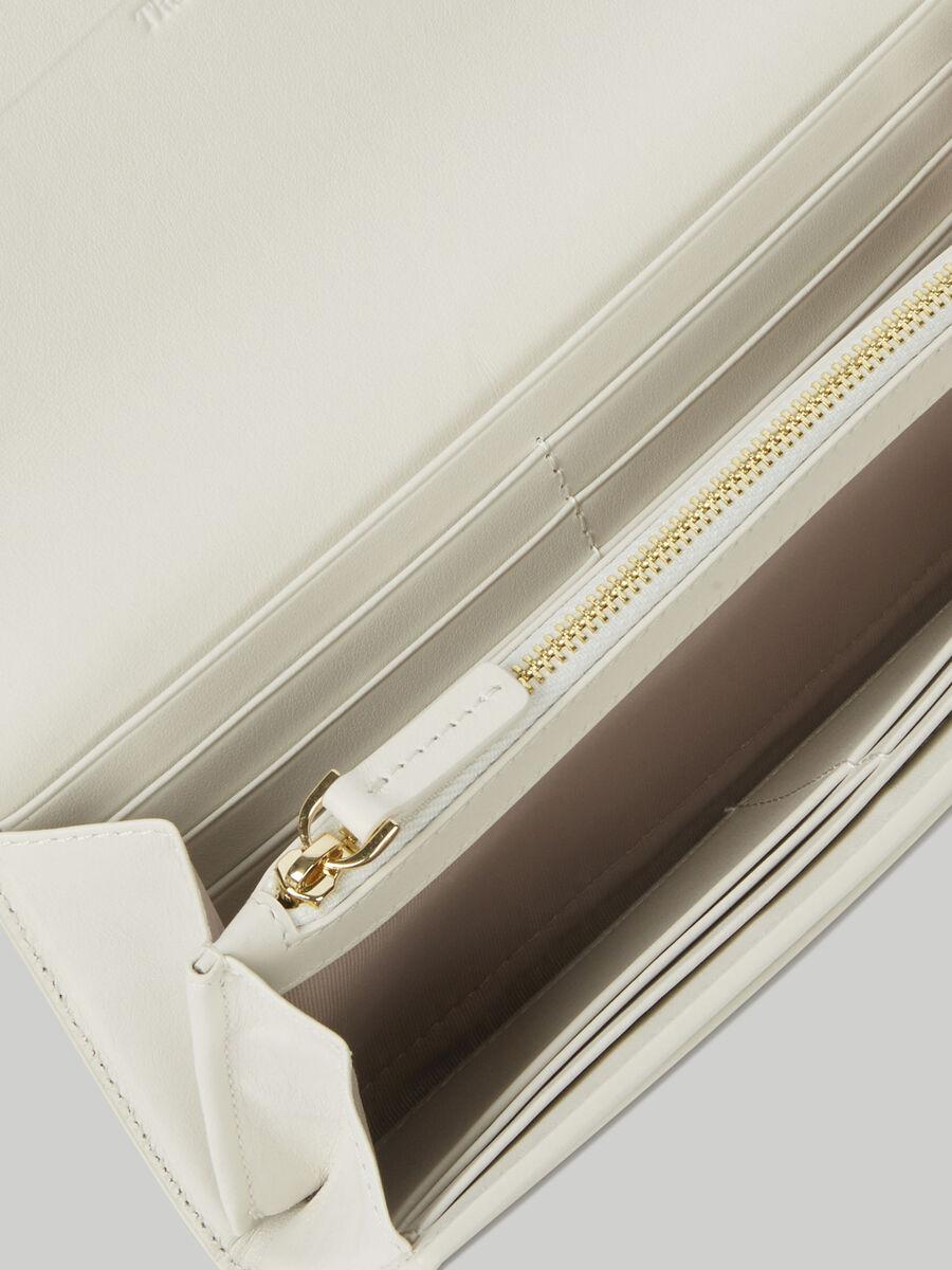 Leather Venezia continental purse