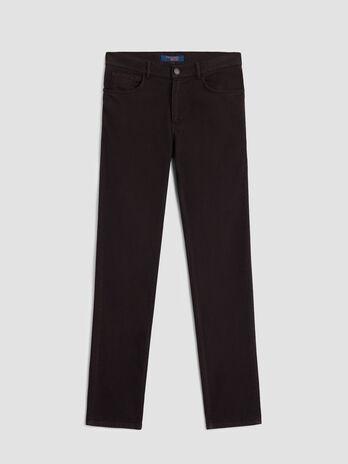 Herringbone cotton Icon 380 trousers