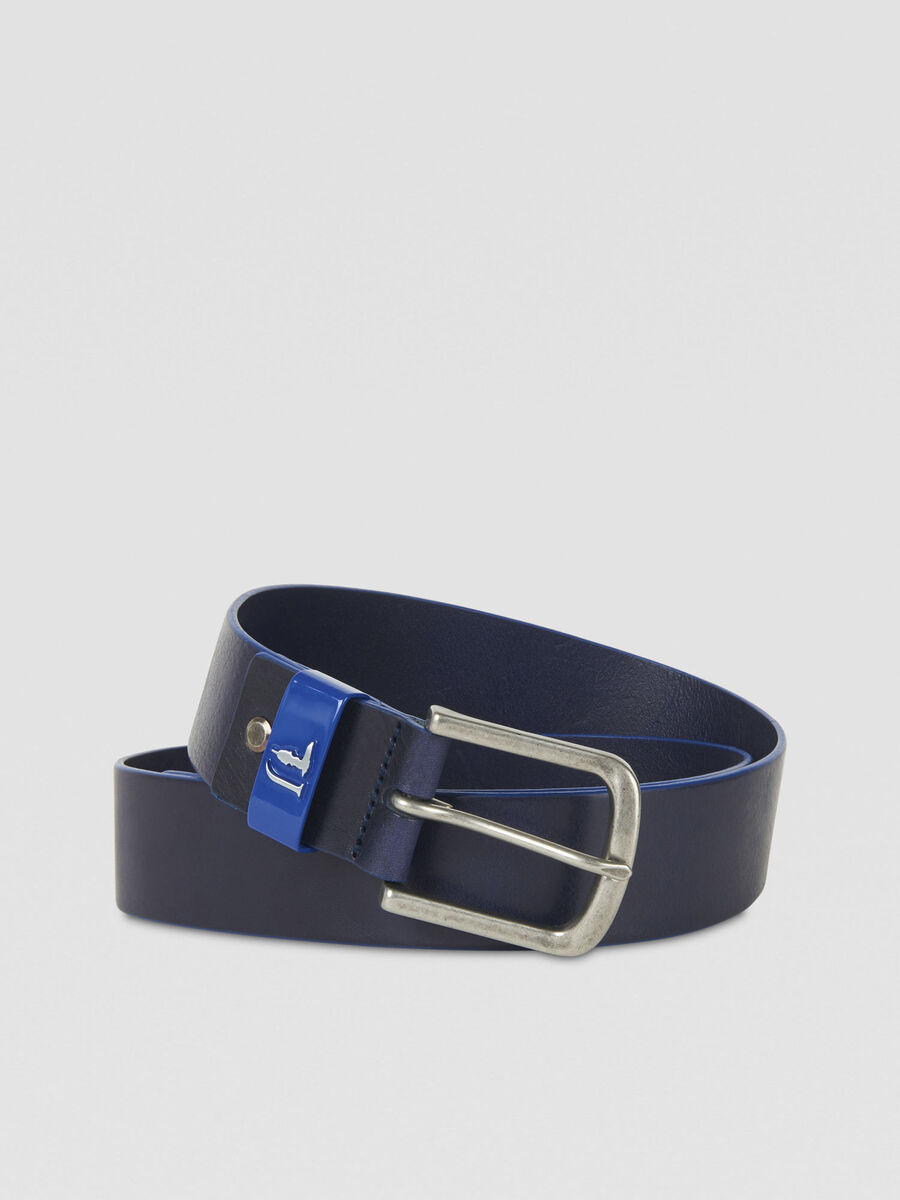 Leather T-Cube belt