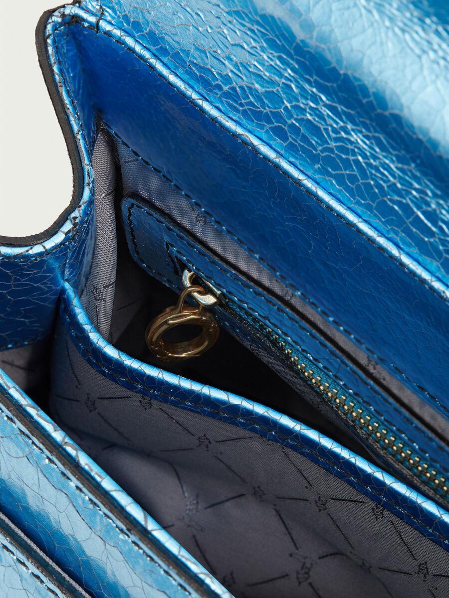 Lovy Bag in pelle craquele laminato