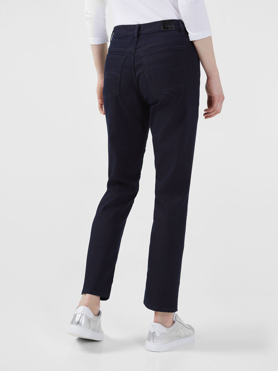Jean 105 botton en denim Shyler bleu