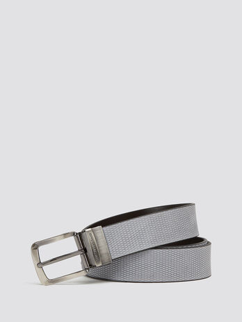 Double face belt in Crespo leather