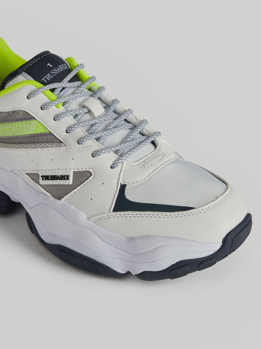 Technical mesh and Acanto running shoes