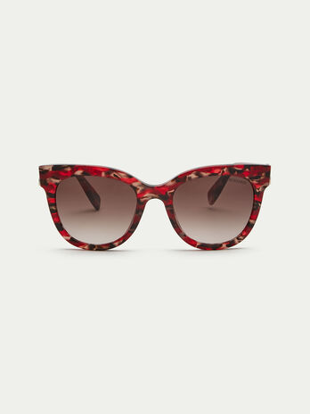 Sonnenbrille mit Levriero Muster