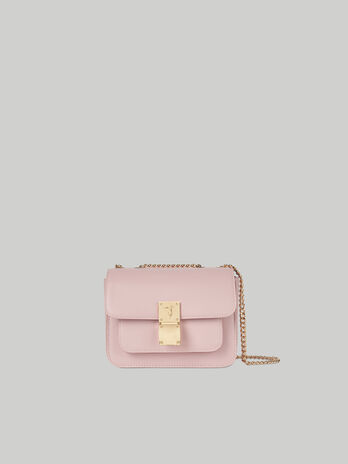 Small Lione crossbody bag in faux leather