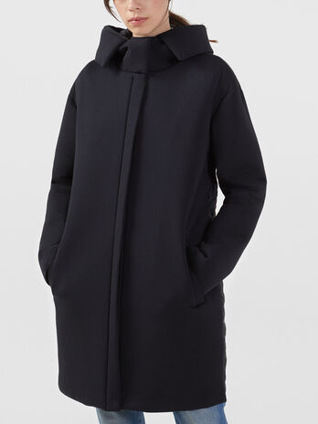 Neoprene and nylon coat