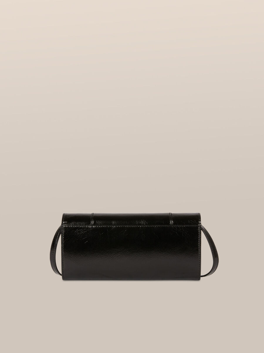 Small New Lovy clutch in Athene leather