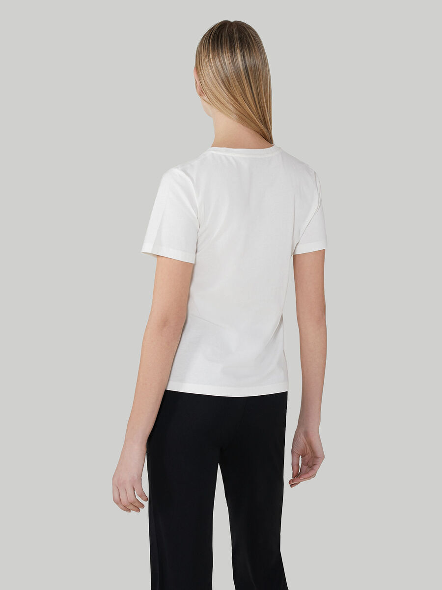T-shirt regular fit in jersey di cotone
