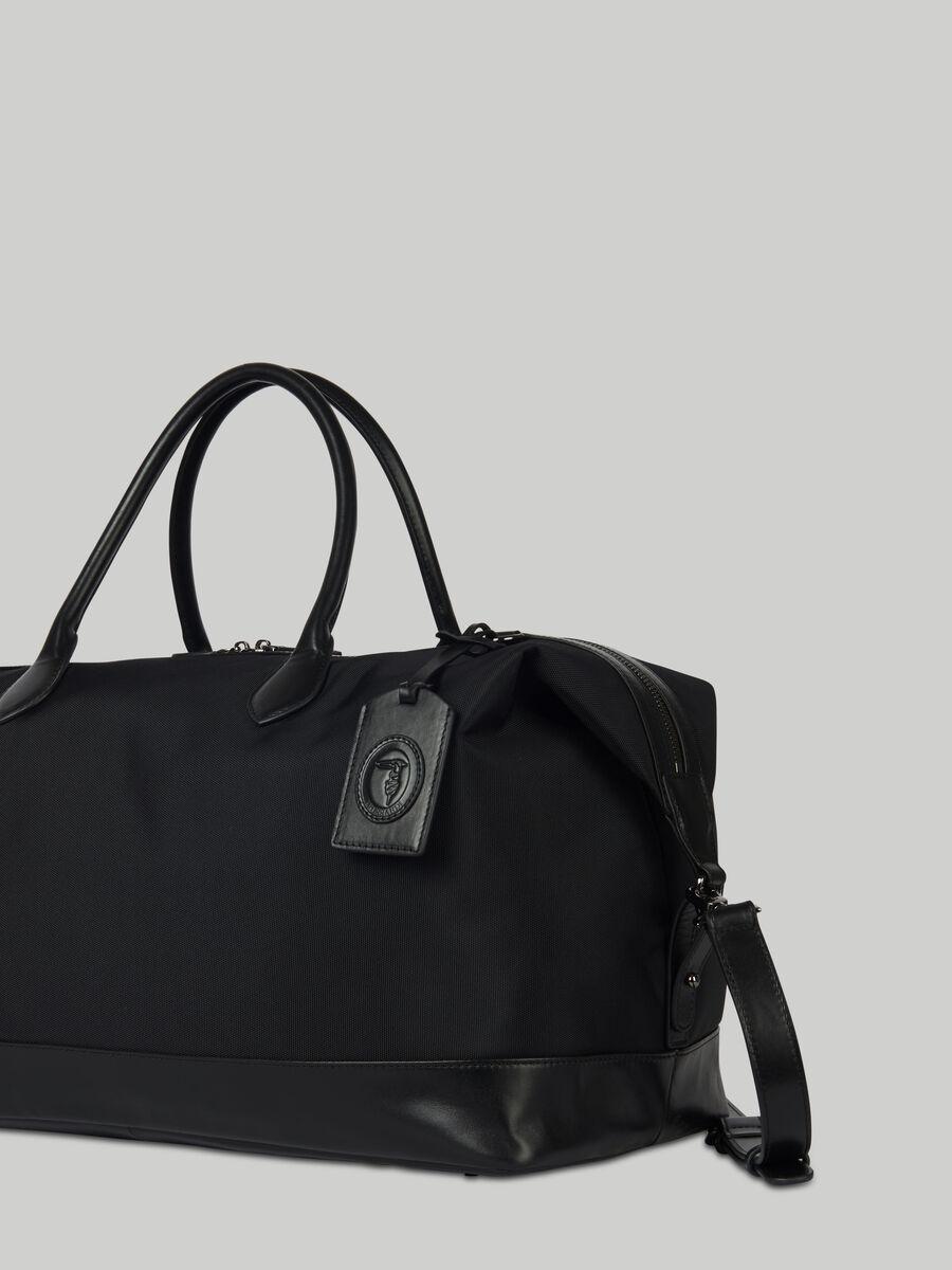 Reisetasche Hero Large aus Stoff und Leder