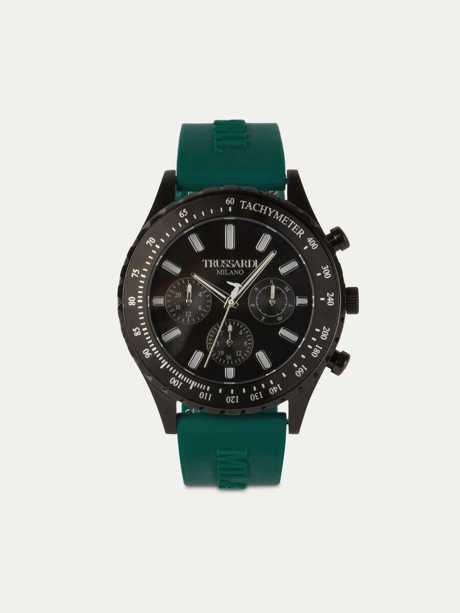 Reloj T-Logo 45MM con correa de silicona