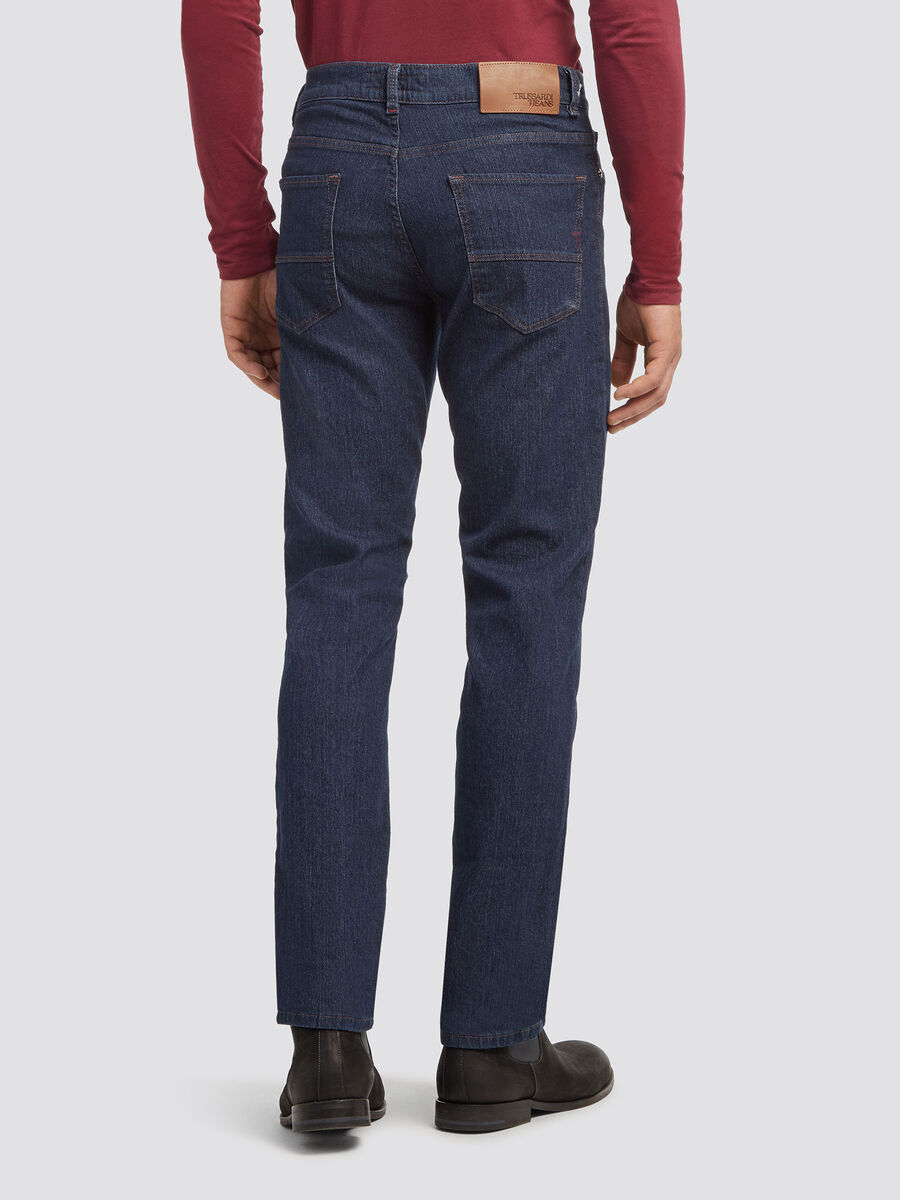 Icon fit stonewashed jeans