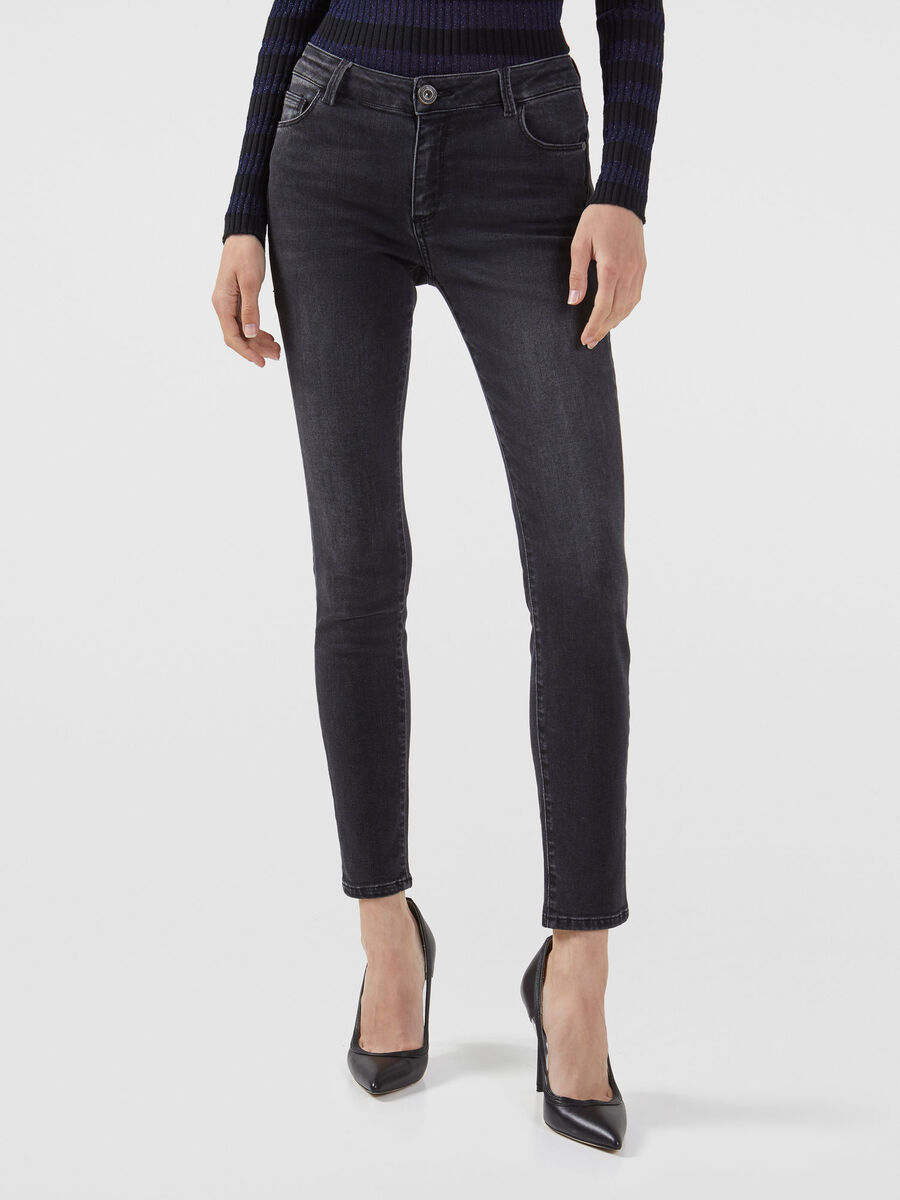 Super skinny 206 jeans in black Diego denim