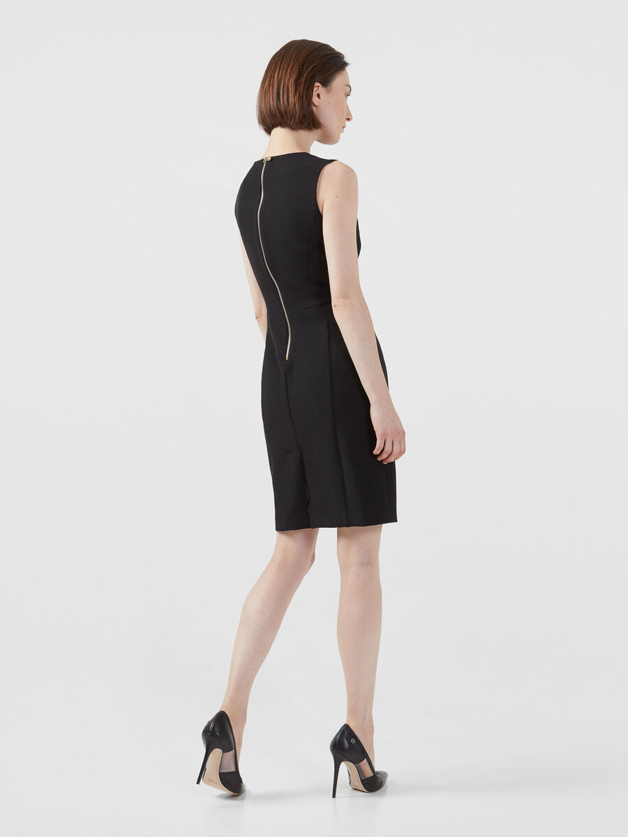 Technical cady pencil dress