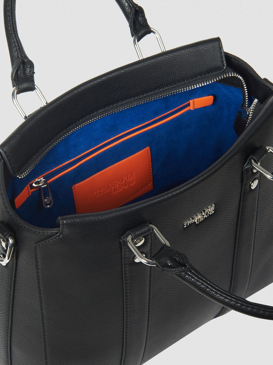 Tote Bag Berry large in similpelle saffiano
