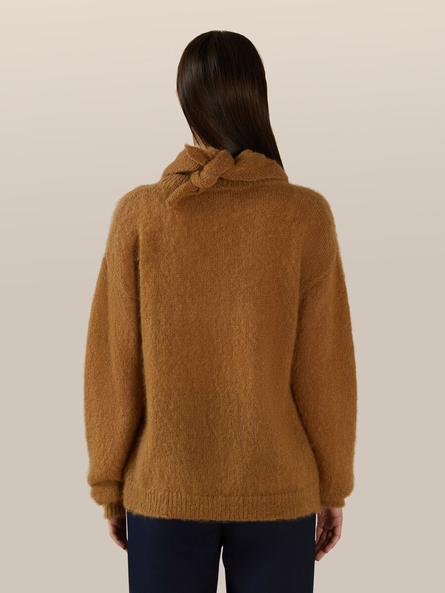 Mohair chine pullover